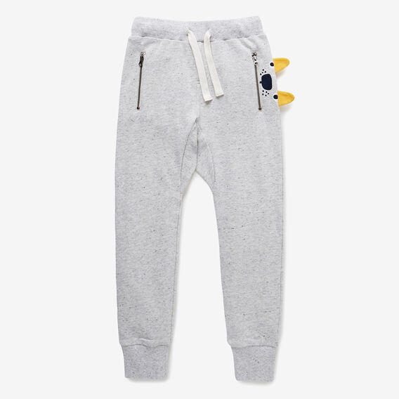 Speckle Novelty Trackie  CLOUDY MARLE  hi-res