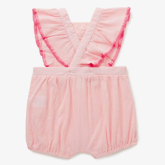 Embroidered Romper  ICE PINK  hi-res