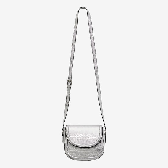 Snake Saddle Bag  SILVER  hi-res