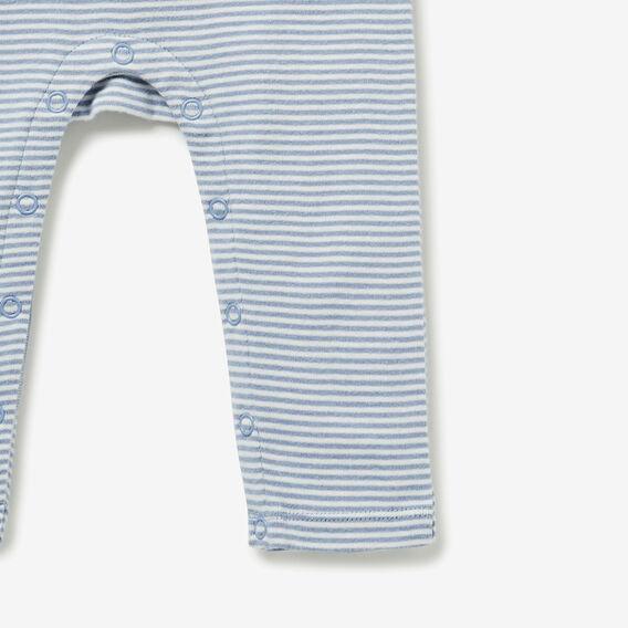 Pear Stripe Jumpsuit  CLOUD BLUE  hi-res