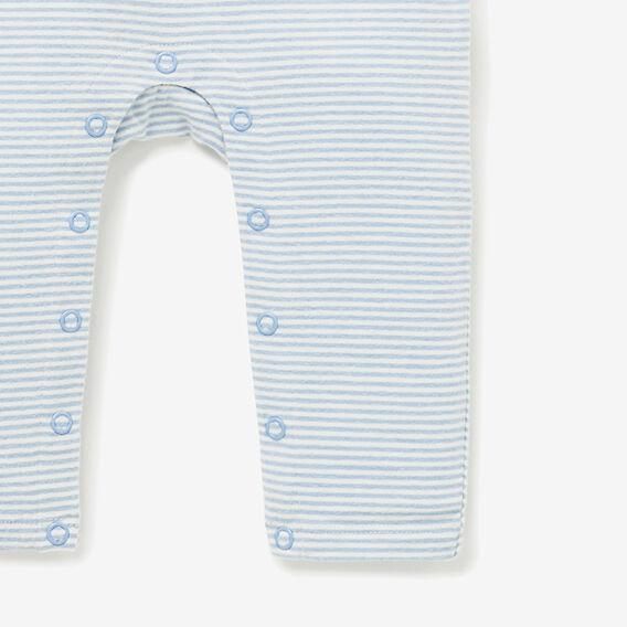Dog Pocket Jumpsuit  WATER BLUE  hi-res