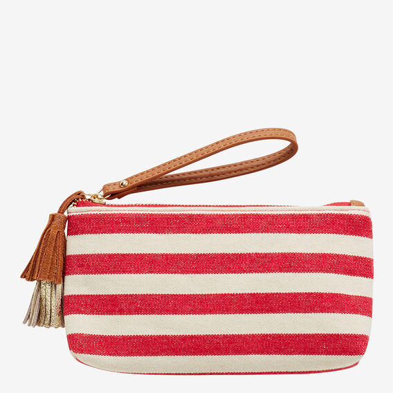 Kaylee Pouch  RED STRIPE  hi-res