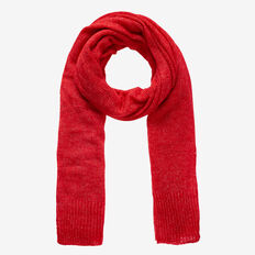 Simple Wrap Scarf  BOLD RED  hi-res