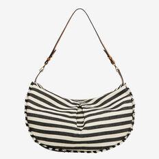 Summer Duffle Bag  BLACK/WHITE  hi-res