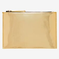 Mirror Zip Case  GOLD  hi-res