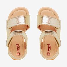 Metallic Sandal  GOLD  hi-res