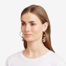 Orb Hoop Earrings  GOLD  hi-res