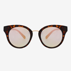 Elle Round Revo Sunglasses  TORT  hi-res