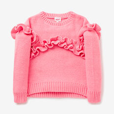 Frill Sweater  BUBBLEGUM  hi-res