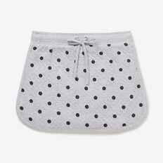 Quilted Spot Skirt  CLOUD  hi-res