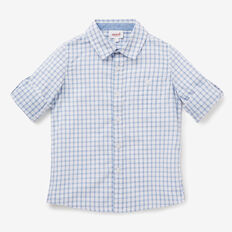 Open Check Shirt  VINTAGE WHITE  hi-res