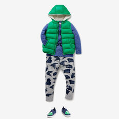 Puffa Vest  APPLE GREEN  hi-res
