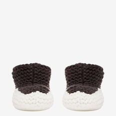 Chunky Knit Bootie  NB CANVAS  hi-res