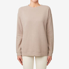 Oversized Textured Sweater  COCOA MARLE  hi-res