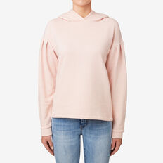 Textured Hoodie  SOFT BLUSH  hi-res