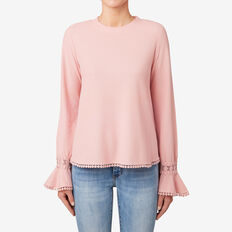 Pretty Trim Top  SOFT BLUSH  hi-res