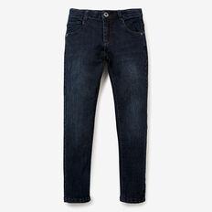 5 Pocket Skinny Jean  BLUE BLACK  hi-res