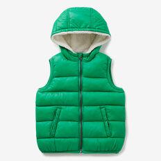 Puffa Vest  APPLE GREEN  hi-res