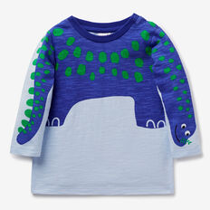 Novelty Dino Tee  PACIFIC BLUE  hi-res