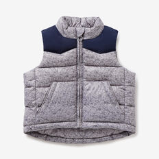 Nylon Vest  GREY MELANGE  hi-res