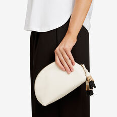 Tassel Dome Pouch  NUDE  hi-res