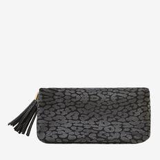 Small Cosmetic Bag  BLACK OCELOT  hi-res
