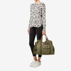 Kourtney Duffle Bag  KHAKI  hi-res