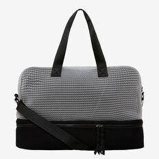 Workout Bag  BLACK/MID GREY MARLE  hi-res