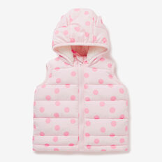 Kitty Spot Vest  ICE PINK  hi-res
