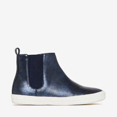 Metallic Navy Boot  NAVY  hi-res