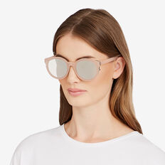 Addison Round Sunglasses  NUDE  hi-res