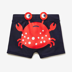 Novelty Crab Swim Short  MIDNIGHT BLUE  hi-res