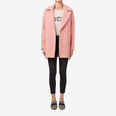 Textured Coat  SOFT BLUSH  hi-res