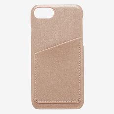 Card iPhone Case X  ROSE GOLD  hi-res