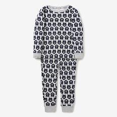 Bear Yardage Pyjama  CLOUDY MARLE  hi-res