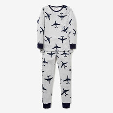 Aeroplane Yardage Pyjama  CLOUDY MARLE  hi-res