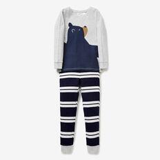 Bear Hug Pyjama  MIDNIGHT BLUE  hi-res