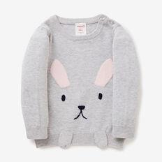 Bunny Paw Sweater  CLOUD  hi-res