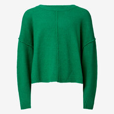 Cropped Sweater  CLOVER  hi-res