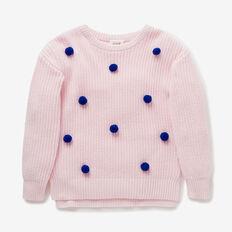 Pom Pom Sweater  ICE PINK  hi-res