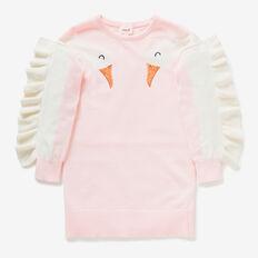 Swan Knit Dress  ICE PINK  hi-res