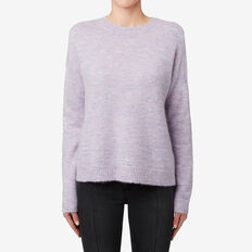 Textured Marle Sweater  WISTERIA MARLE  hi-res