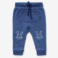 Bunny Knee Track Pant  WASHED INDIGO  hi-res