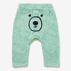 Novelty Bear Track Pant  JUNGLE GREEN  hi-res