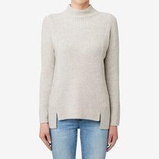 Neat Rib Sweater  TAUPE MARLE  hi-res