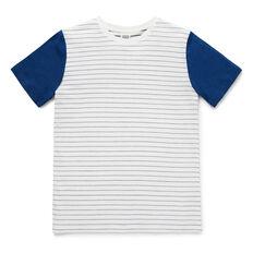 Stripe Tee  VINTAGE WHITE  hi-res