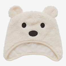 Sherpa Bear Hat  CANVAS  hi-res
