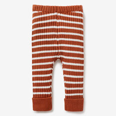 Toffee Rib Knit Pant  TOFFEE  hi-res