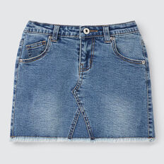 Denim Skirt  WASHED BLUE  hi-res