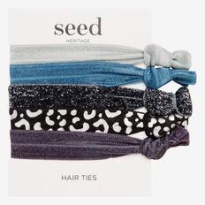 Hair Elastic Pack  DENIM  hi-res